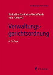 Verwaltungsgerichtsordnung, 8. Auflage 2021