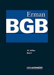 Erman BGB Kommentar, 16. Auflage 2020