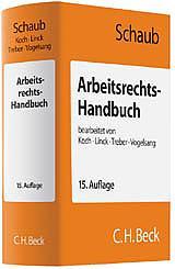 Arbeitsrechts-Handbuch, 17. Auflage 2017