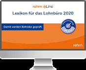 Lexikon für das Lohnbüro 2020 online