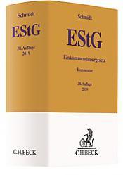 Einkommensteuergesetz: EStG, 38. Auflage 2019