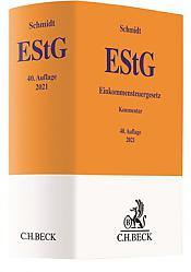 Einkommensteuergesetz: EStG, 40. Auflage 2021