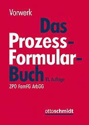 Prozessformularbuch, 11. Auflage 2018