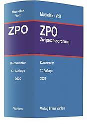 Zivilprozessordnung: ZPO, 17. Auflage 2020