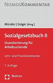 Sozialgesetzbuch II, 7. Auflage 2020