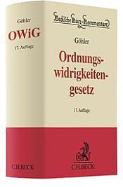 Ordnungswidrigkeitengesetz, 17.Auflage 2017