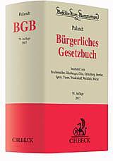 Bürgerliches Gesetzbuch: BGB, Kommentar, 76. Auflage 2017