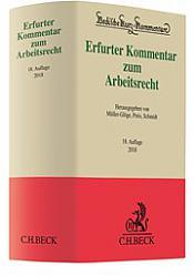 Erfurter Kommentar zum Arbeitsrecht, 18. Auflage 2018