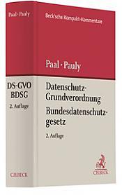 Datenschutz-Grundverordnung Bundesdatenschutzgesetz: DS-GVO BDSG