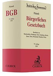 Bürgerliches Gesetzbuch: BGB, Kommentar, 79. Auflage 2020