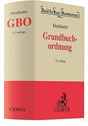 Grundbuchordnung GBO, 32. Auflage 2021