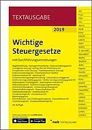 Wichtige Steuergesetze, 68. Auflage 2019