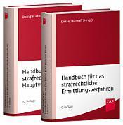 Burhoff Paket Handbuch für das strafrechtliche Ermittlungsverfahren und Handbuch für die strafrechtliche Hauptverhandlung 2021