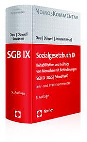 Sozialgesetzbuch IX Kommentar, 5. Auflage 2017