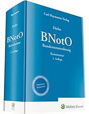 Bundesnotarordnung, BNotO, 2. Auflage 2019