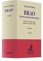 Bundesrechtsanwaltsordnung: BRAO, 5. Auflage 2019