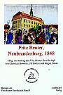 Fritz Reuter, Neubrandenburg, 1848