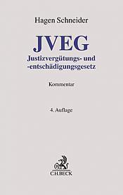 JVEG Justizvergütungs- und -entschädigungsgesetz, 4. Auflage 2021