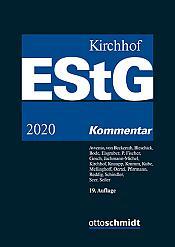 Einkommensteuergesetz , Kommentar, 19. Auflage 2020