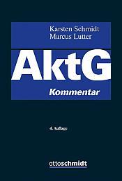 Aktiengesetz Kommentar, 4. Auflage 2020
