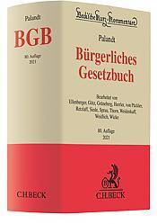 Bürgerliches Gesetzbuch: BGB , Kommentar, 80. Auflage 2021