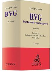 Rechtsanwaltsvergütungsgesetz: RVG, Kommentar, 25. Auflage 2021