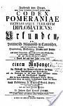 Codex Pomeraniae Diplomaticus