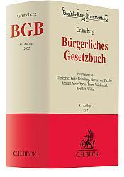 Grüneberg (vormals Palandt ), Bürgerliches Gesetzbuch: BGB, 81. Auflage 2022