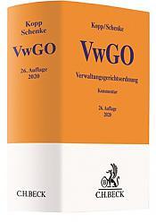 Verwaltungsgerichtsordnung: VwGO, 26. Auflage 2020